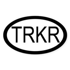 Tracker Euro Oval Decal