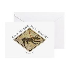 Dog Ate My Homework Greeting Card