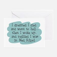 Med School Hell Greeting Cards (Pk of 10)