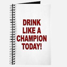 Drink Like a Champion Journal