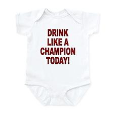 Drink Like a Champion Infant Bodysuit