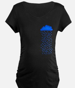 Blue raincloud T-Shirt