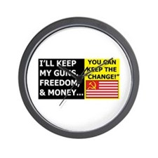 I'll Keep My Guns, Freedom, a Wall Clock