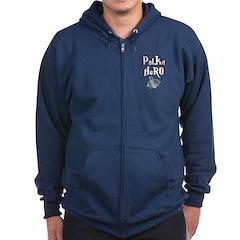 Polka Hero Zip Hoodie