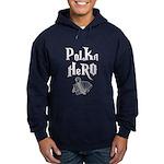 Polka Hero Hoodie (dark)