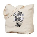 Polka Hero Tote Bag