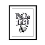 Polka Hero Framed Panel Print