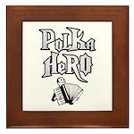 Polka Hero Framed Tile