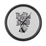 Polka Hero Large Wall Clock