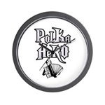 Polka Hero Wall Clock