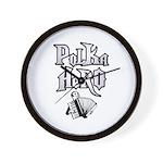 Polka Hero Wall Clock