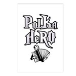 Polka Hero Postcards (Package of 8)