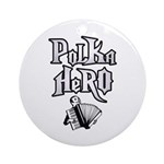Polka Hero Ornament (Round)