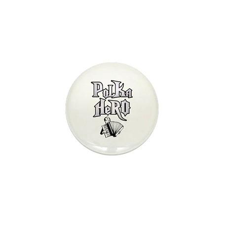 Polka Hero Mini Button