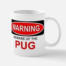 Beware Pug Mug