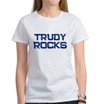 trudy rocks Women's T-Shirt