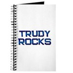 trudy rocks Journal