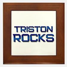 triston rocks Framed Tile
