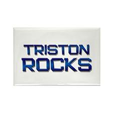 triston rocks Rectangle Magnet
