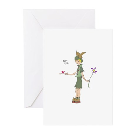 for you - Greeting Cards (Pk of 10)