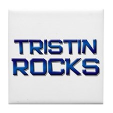 tristin rocks Tile Coaster