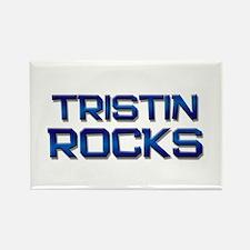 tristin rocks Rectangle Magnet