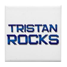 tristan rocks Tile Coaster