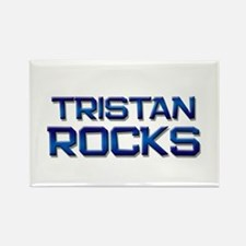 tristan rocks Rectangle Magnet