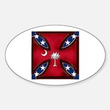 Big Red Variation Oval Decal