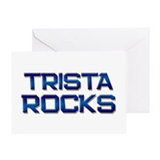 trista rocks Greeting Card