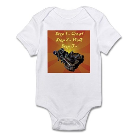 """Born To Race"" Infant Bodysuit"