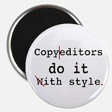 Copy editors do it ... Magnet