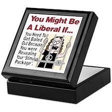 A Liberals Stimulus Package Keepsake Box
