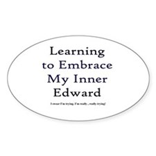 Inner Edward Oval Decal