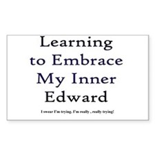 Inner Edward Rectangle Decal