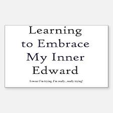 Inner Edward Rectangle Decal