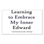 Inner Edward Rectangle Sticker