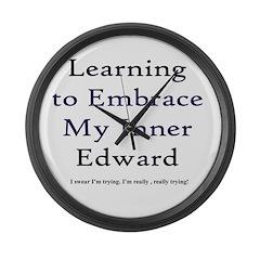 Inner Edward Large Wall Clock