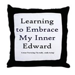 Inner Edward Throw Pillow