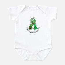 Flower Ribbon ORGAN DONATION Infant Bodysuit