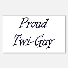Twi-Guy Rectangle Decal