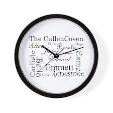 Cullen Words Wall Clock