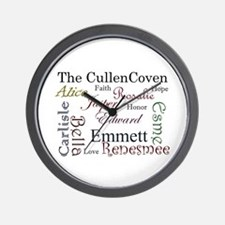 Cullen Words Wall Clock