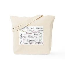 Cullen Words Tote Bag