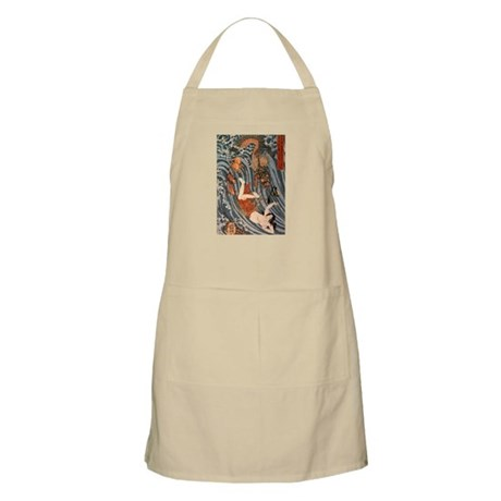 Tamatori being pursued by a d BBQ Apron