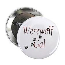 """Werewolf Gal 2.25"""" Button"""