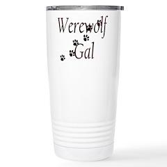 Werewolf Gal Stainless Steel Travel Mug