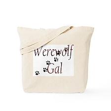 Werewolf Gal Tote Bag