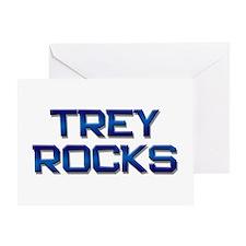 trey rocks Greeting Card