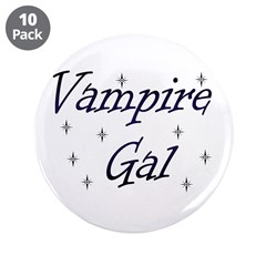 """Vampire Gal 3.5"""" Button (10 pack)"""